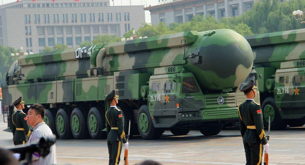 Mísseis chineses DF-41