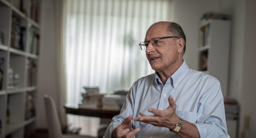 Ex-governador de São Paulo e ex-presidenciável Geraldo Alckmin, do PSDB