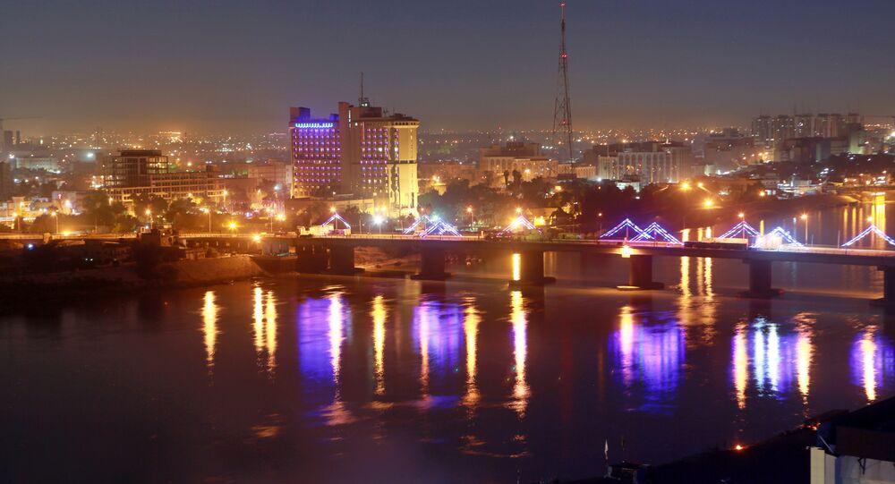 Zona Verde de Bagdá, Iraque