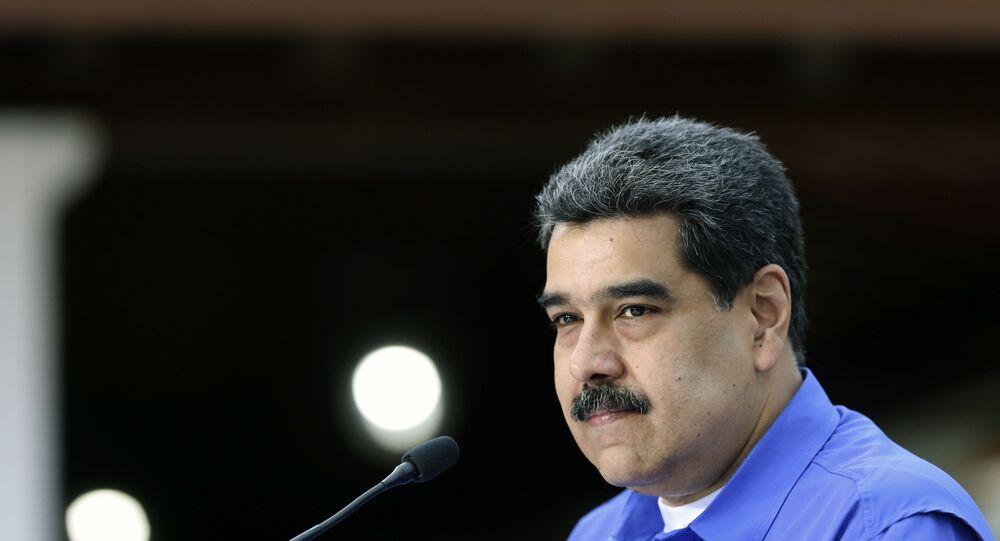Presidente da Venezuela Nicolás Maduro (foto de arquivo)