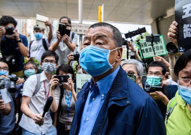 Jimmy Lai, magnata de mídia de Hong Kong