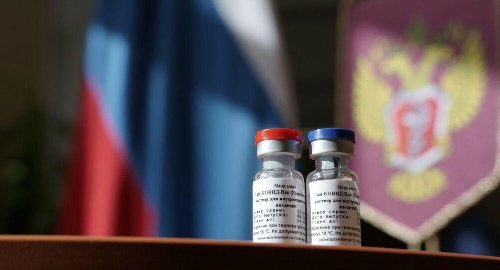 Primeira vacina contra a COVID-19 no mundo