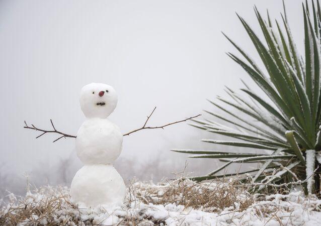 Boneco de neve (imagem referencial)