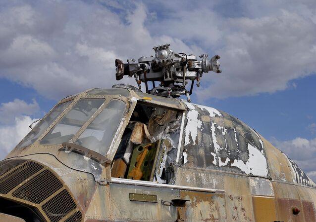 Aeronave desativada na Base da Força Aérea dos EUA em Tucson, no estado norte-americano do Arizona