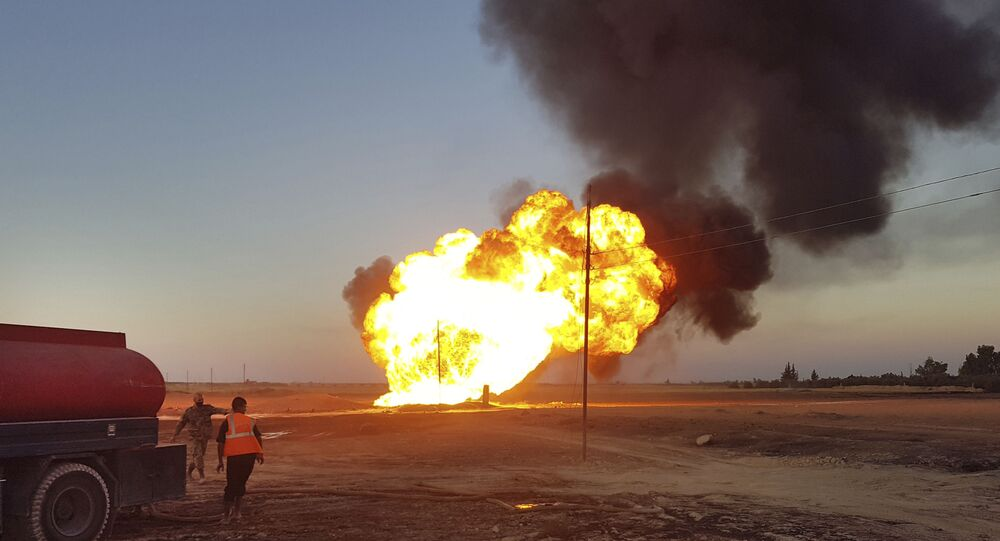 Explosão em gasoduto provoca apagão em Damasco