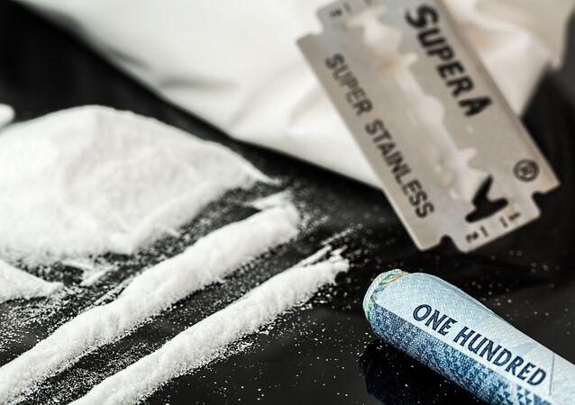 Cocaina (imagem referencial)