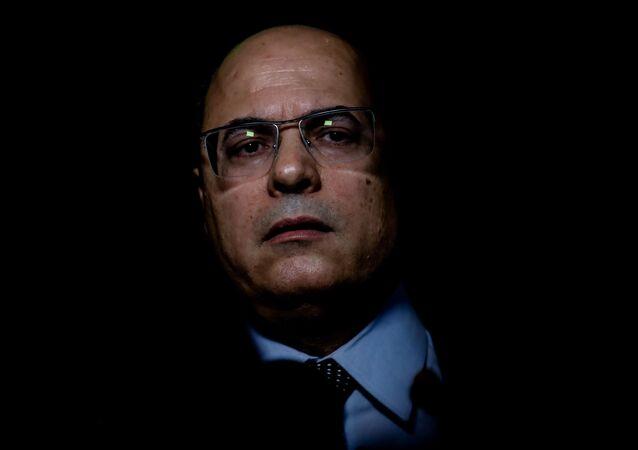 O governador do Rio de Janeiro, Wilson Witzel, afastado do cargo.