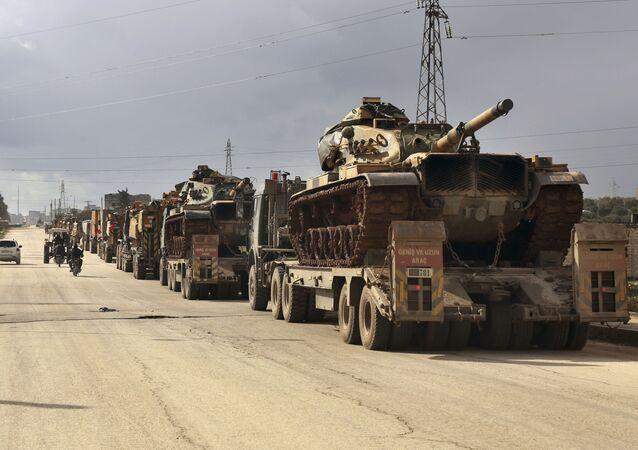 Tanques da Turquia (imagem referencial)