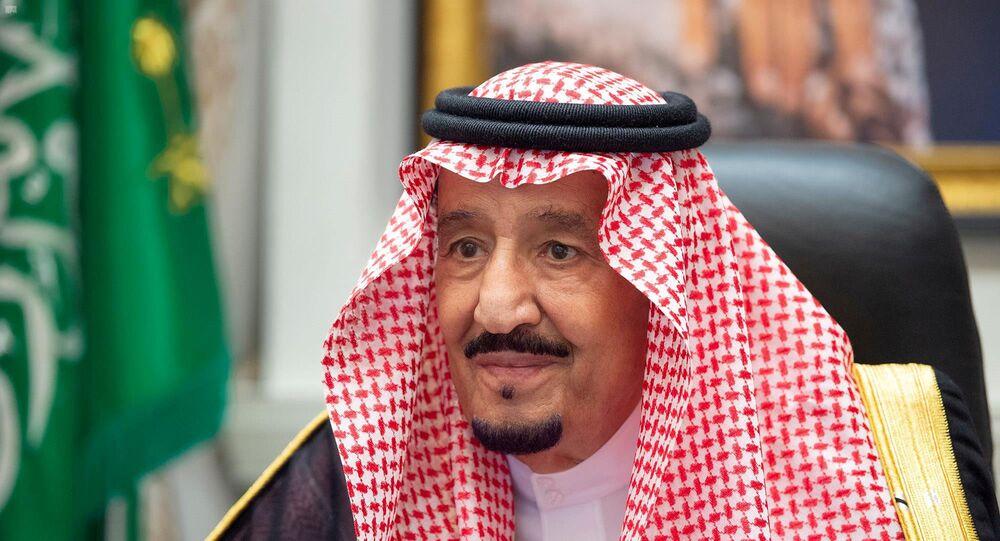 O rei da Arábia Saudita, Salman bin Abdulaziz