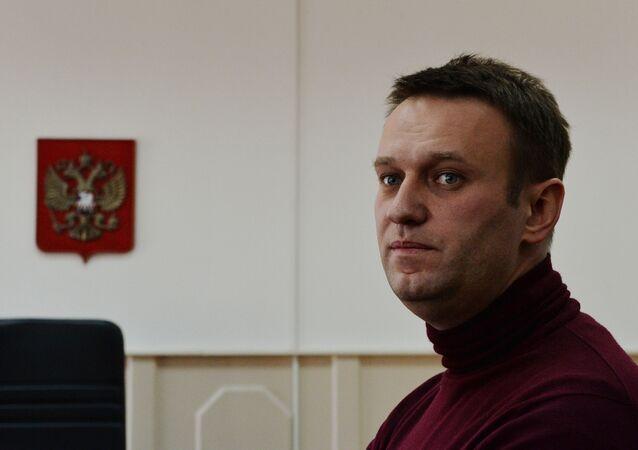 Opositor russos Aleksei Navalny (foto de arquivo)