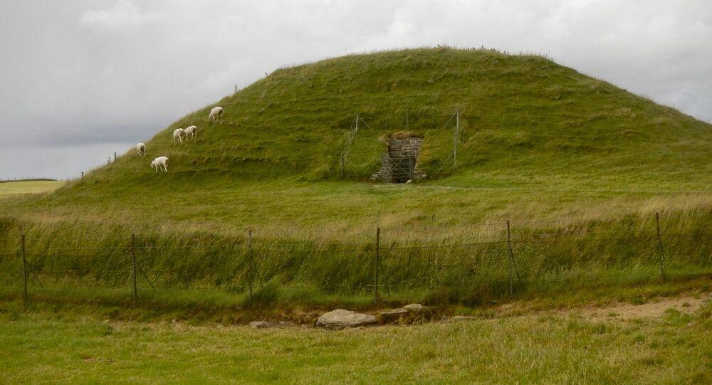 Casa dos mortos em Maeshowe
