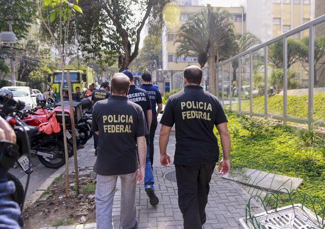 Polícia Federal faz buscas no escritório do advogado do ex-presidente Lula, Cristiano Zanin, no bairro Cerqueira César, na capital paulista