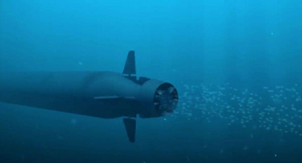 Sistema submarino multiuso oceânico Poseidon