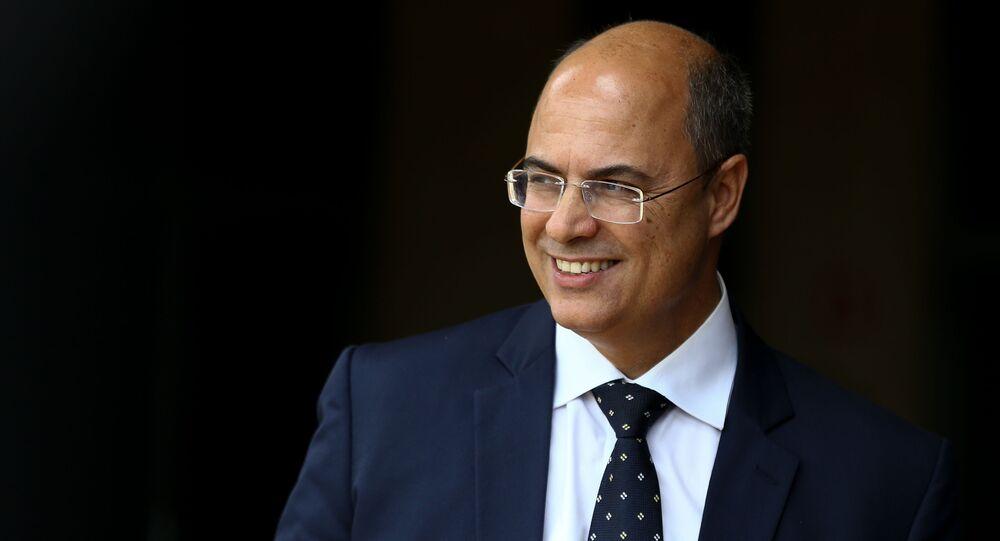 Governador do Rio de Janeiro, Wilson Witzel, do PSC