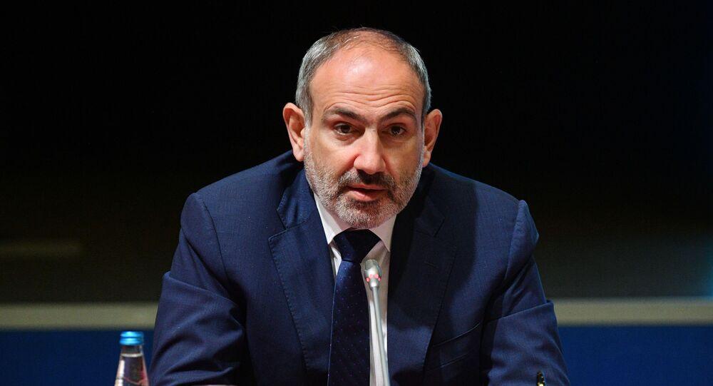 Premiê armênio Nikol Pashinyan (foto de arquivo)