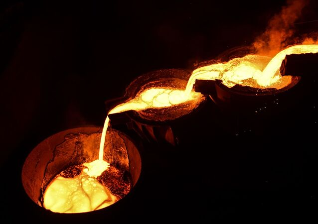 Metalurgia (foto de arquivo)