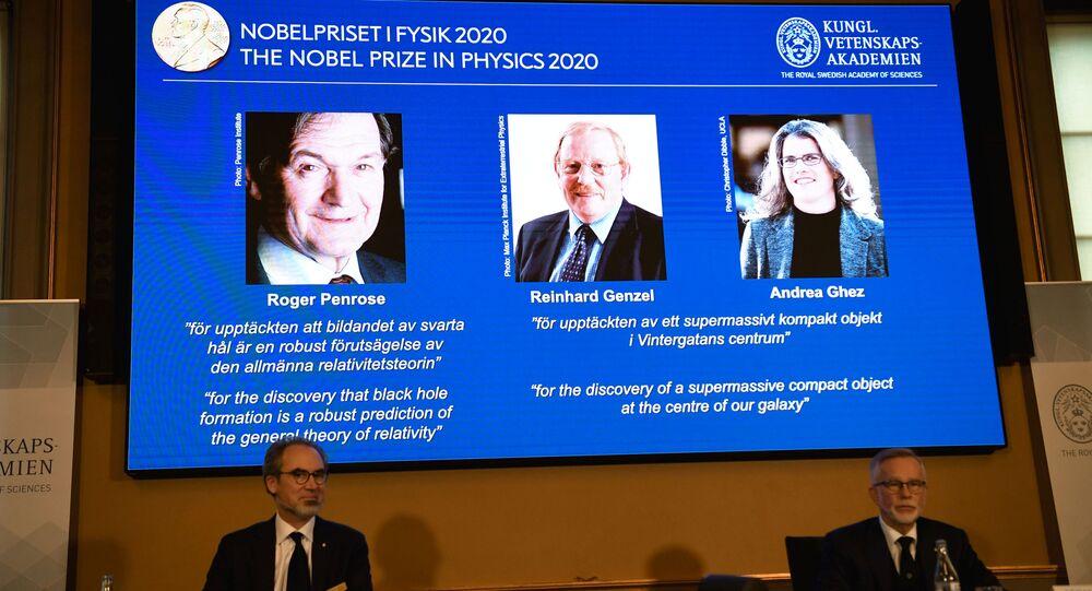 Ganhadores do Prêmio Nobel em Física em 2020 – Roger Penrose, Reinhard Genzel e Andrea Ghez