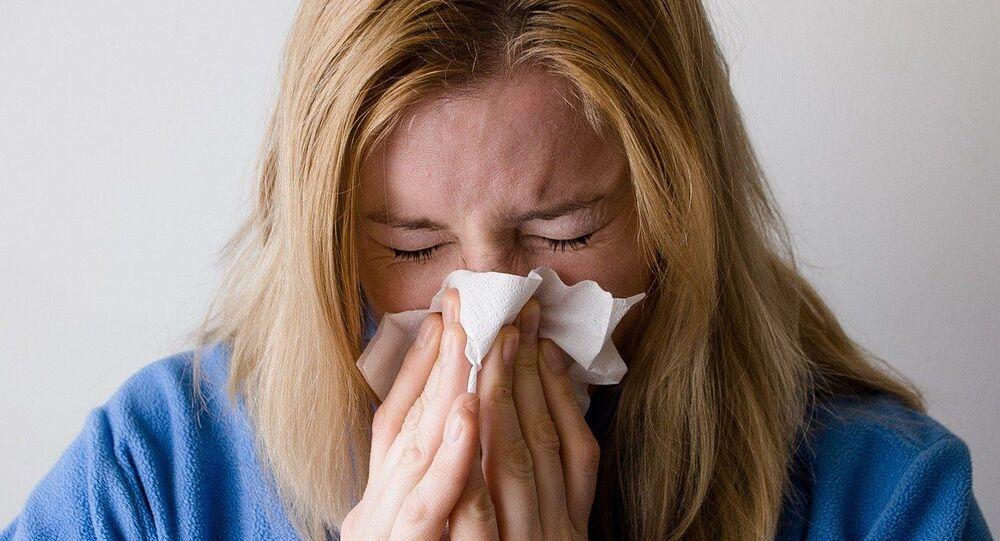 Perda de olfato (imagem referencial)