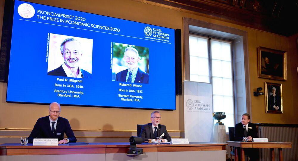 Nobel de Economia 2020 vai para Milgrom e Wilson