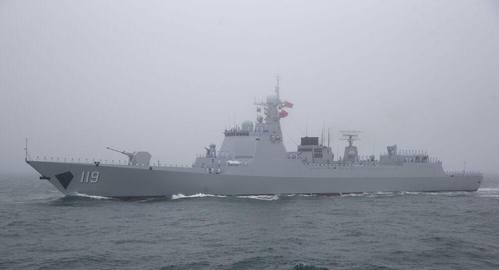 Destróier de míssil guiado chinês Type 052D