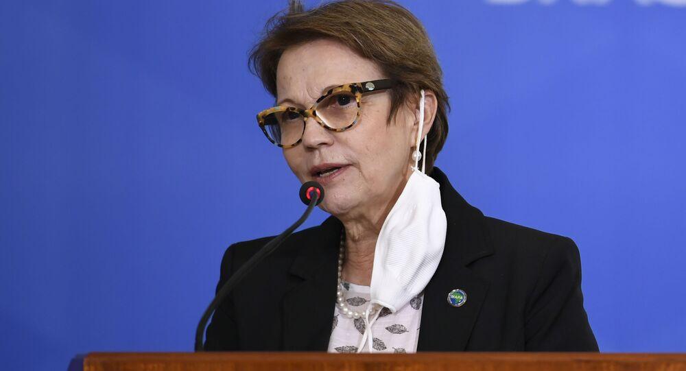 Tereza Cristina, ministra da Agricultura.