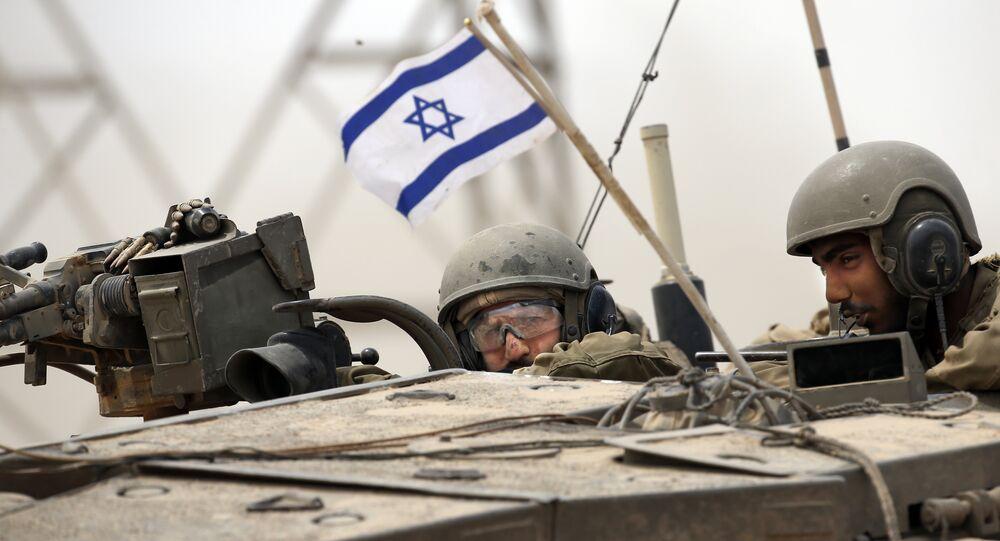 Soldados do Exército israelense