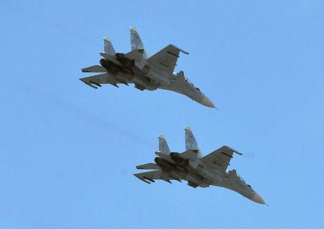 Caças Su-30SM