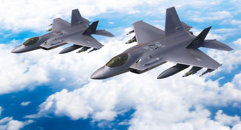 Caça multifuncional KF-X da Força Aérea da Coreia do Sul