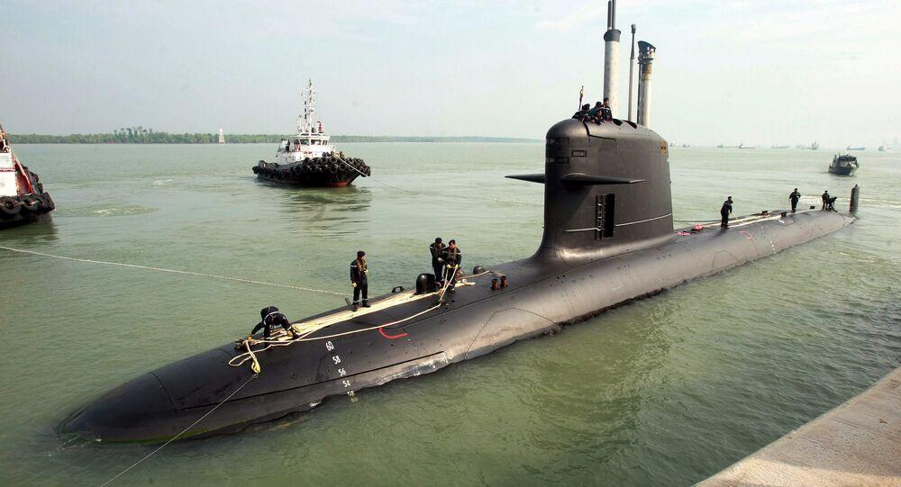 Submarino Scorpène construído pela companhia Naval Group da França