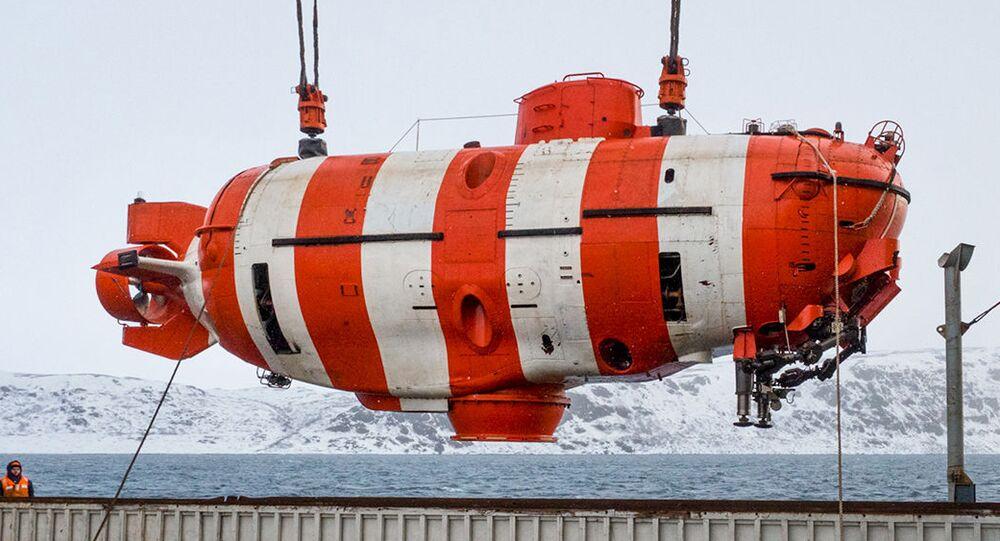 Submersível de grande profundidade de nova geração (Mar de Barents)
