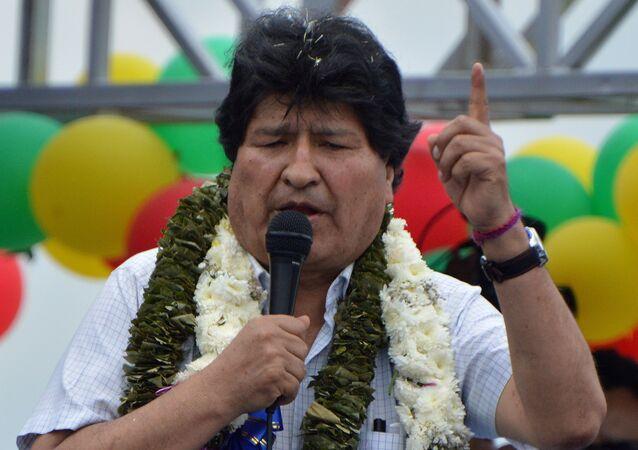 Ex-presidente boliviano Evo Morales
