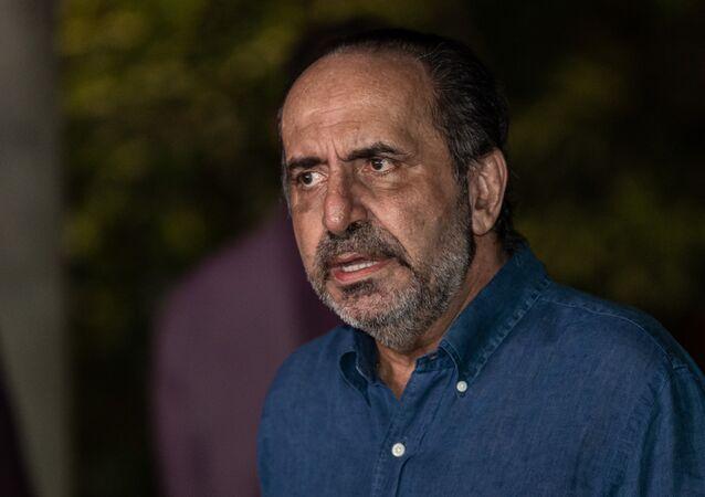 Alexandre Kalil concede entrevista coletiva após ser reeleito prefeito de Belo Horizonte