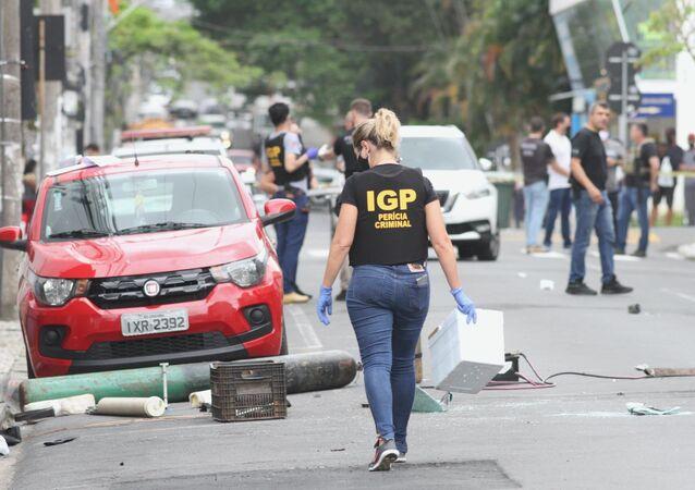 Um grupo fortemente armado provocou uma onda de assaltos a bancos em Criciúma, no sudeste de Santa Catarina, no início da madrugada de terça-feira, 1º de dezembro