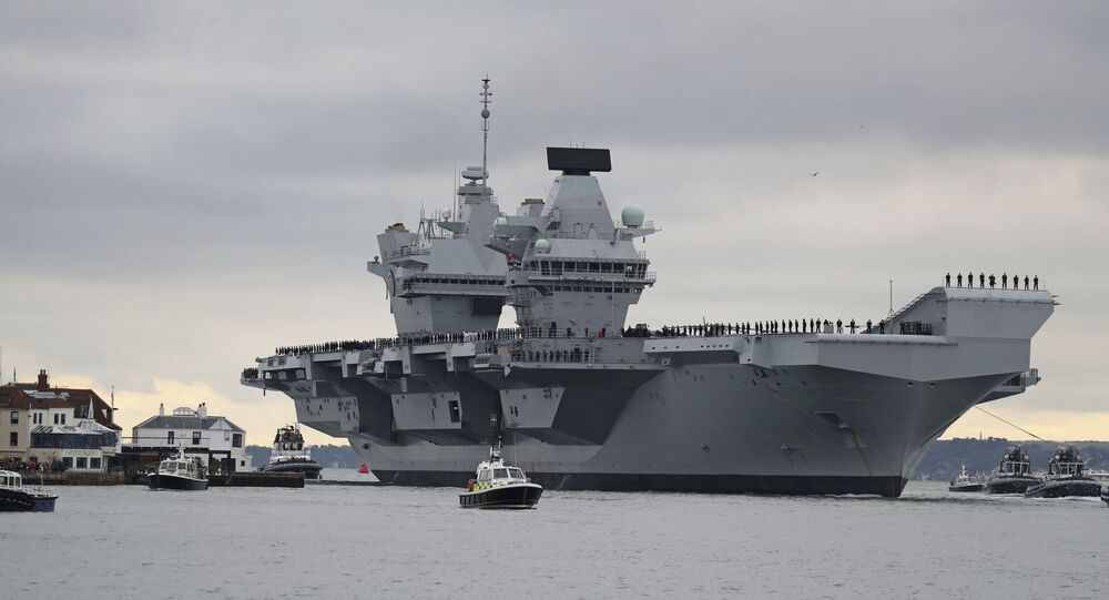 Porta-aviões britânico HMS Prince of Wales