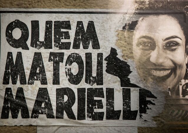 Homenagem à vereadora Marielle Franco no escadão da rua Cardeal Arcoverde, na zona oeste da capital paulista, São Paulo, 7 de dezembro de 2020