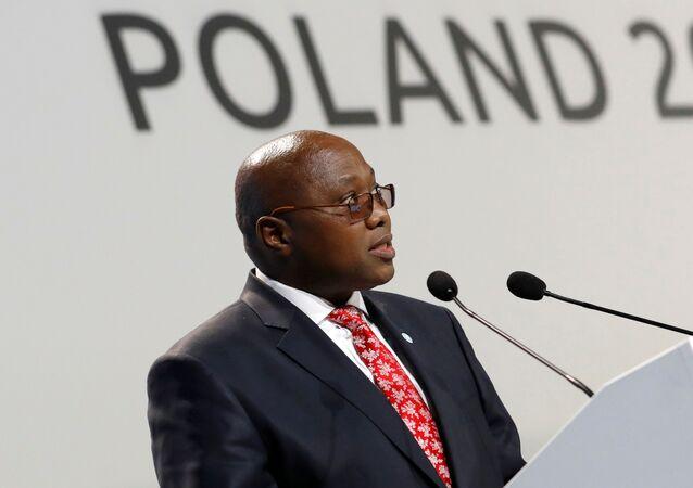 Ambrose Mandvulo Dlamini, o primeiro-ministro de Eswatini