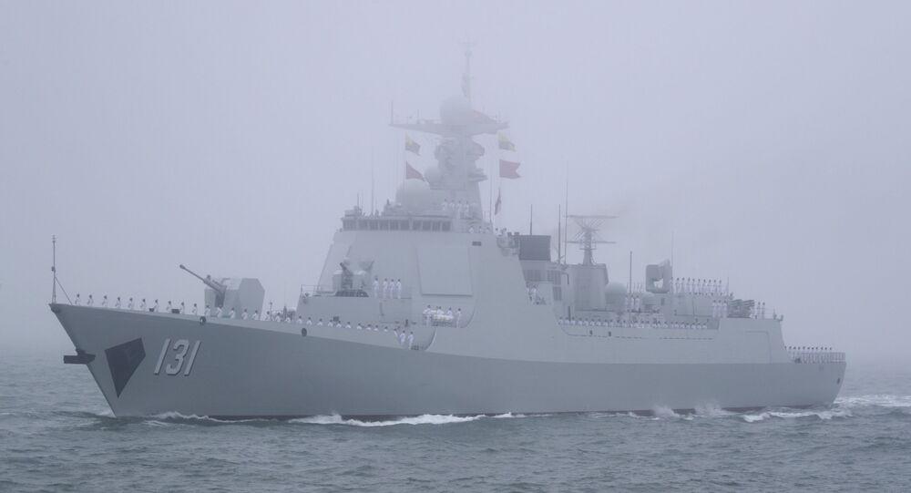 Destróier chinês, Type 052D