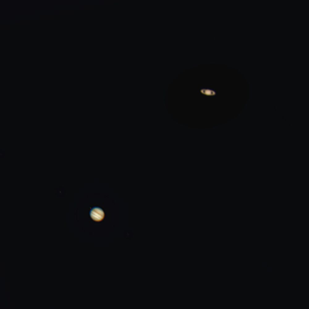 Conjunção entre Júpiter e Saturno, 21 de dezembro de 2020