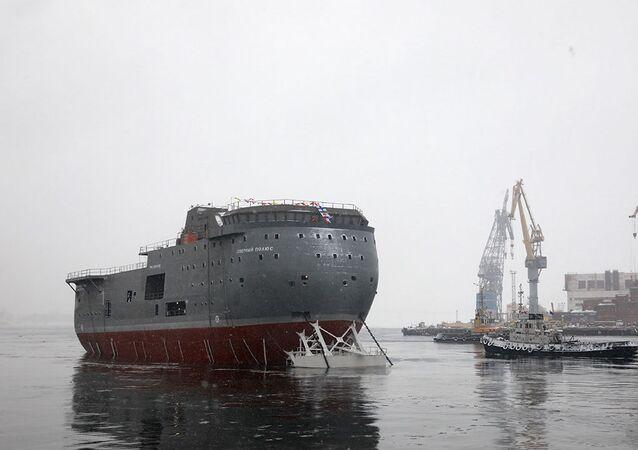 Plataforma científica autopropulsada da Rússia Severny Polyus