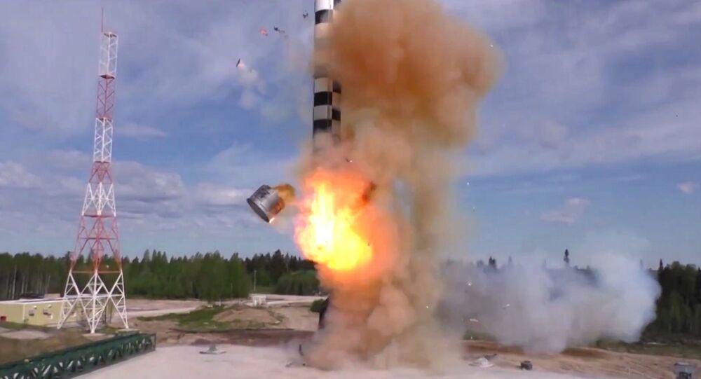 Teste de míssil balístico intercontinental Sarmat