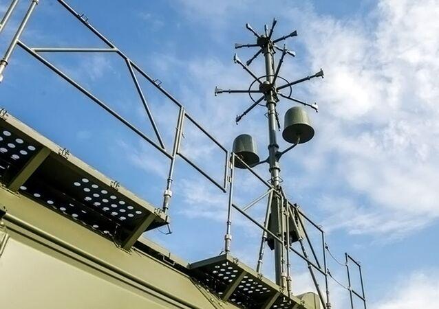 Antena do sistema de reconhecimento de artilharia Penitsillin