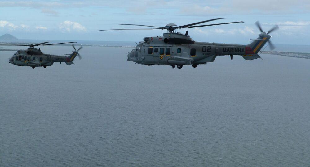 Helicóptero UH-15 Super Cougar