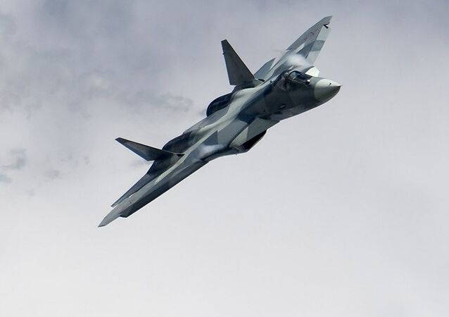 Caça multifuncional Su-57 de quinta geração