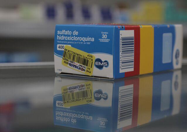 Organização Mundial da Saúde (OMS) excluiu a cloroquina da lista de opções em análise para o tratamento da COVID-19
