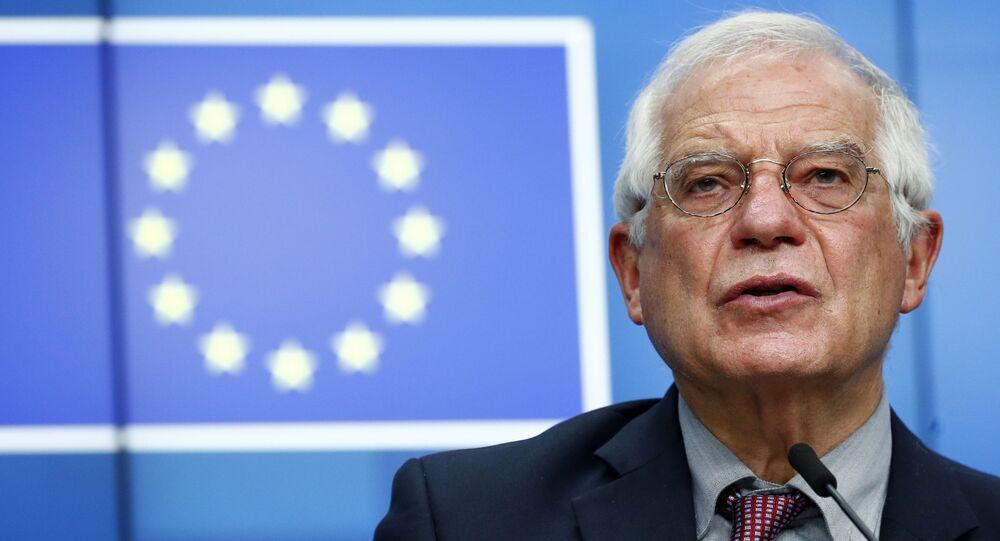 O alto representante da União Europeia para os Negócios Estrangeiros e Assuntos de Segurança, Josep Borrell