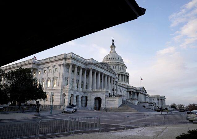Capitólio em Washington, EUA, 21 de dezembro de 2020