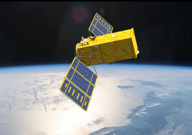 O Amazônia 1, primeiro satélite completamente brasileiro, lançado ao espaço (imagem ilustrativa).