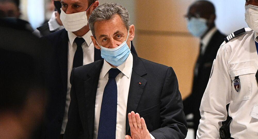 Ex-presidente francês, Nicolas Sarkozy.