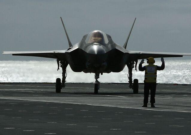Caça norte-americano F-35B