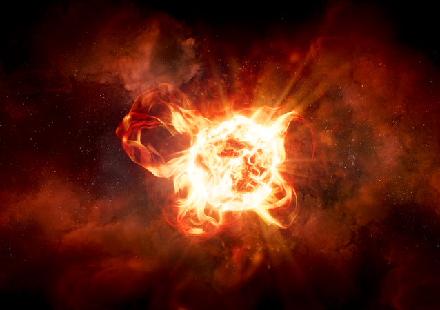 Estrela hipergigante VY Canis Majoris (imagem referencial)
